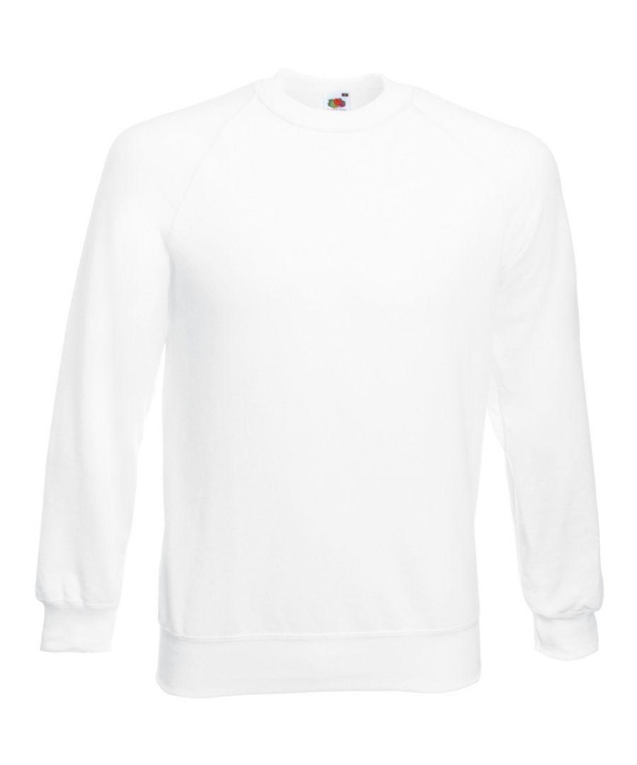 Image for Fruit Of The Loom Mens Raglan Sleeve Belcoro® Sweatshirt