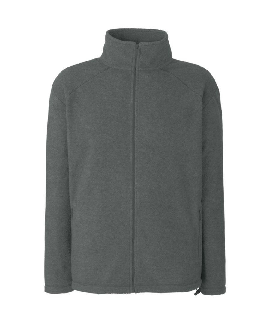Image for Fruit Of The Loom Mens Full Zip Outdoor Fleece / Top
