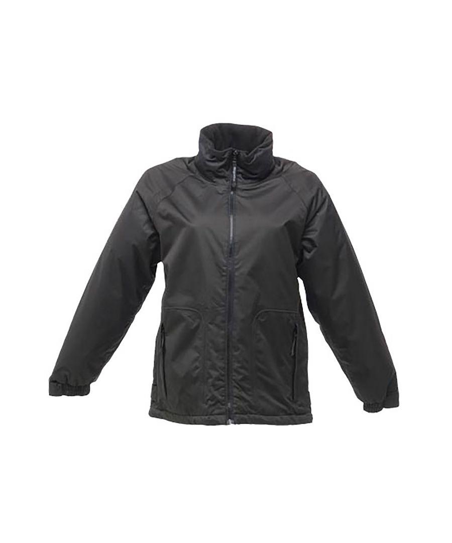 Image for Regatta Ladies/Womens Waterproof Windproof Jacket (Black)