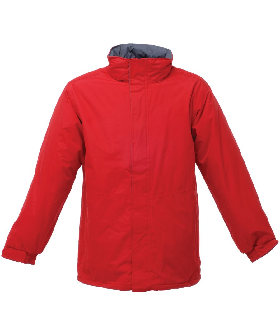 Image for Regatta Mens Beauford Waterproof Windproof Jacket (Thermoguard Insulation) (Classic Red)