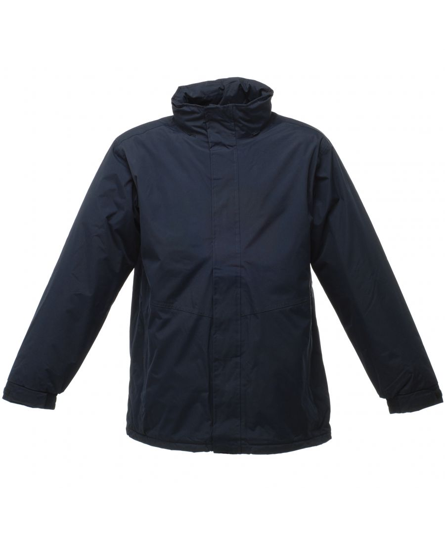 Image for Regatta Mens Beauford Waterproof Windproof Jacket (Thermoguard Insulation) (Navy Blue)