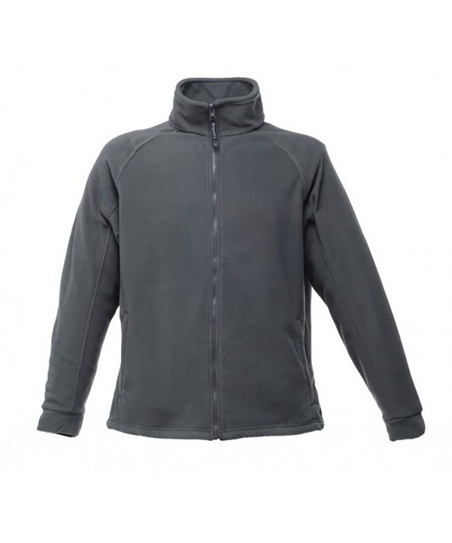 Image for Regatta Mens Thor III Fleece Jacket (Seal Grey)