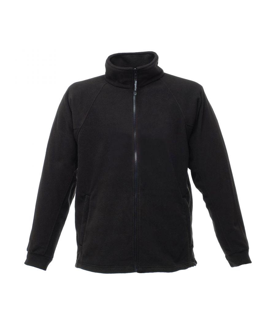 Image for Regatta Mens Thor III Fleece Jacket (Black)