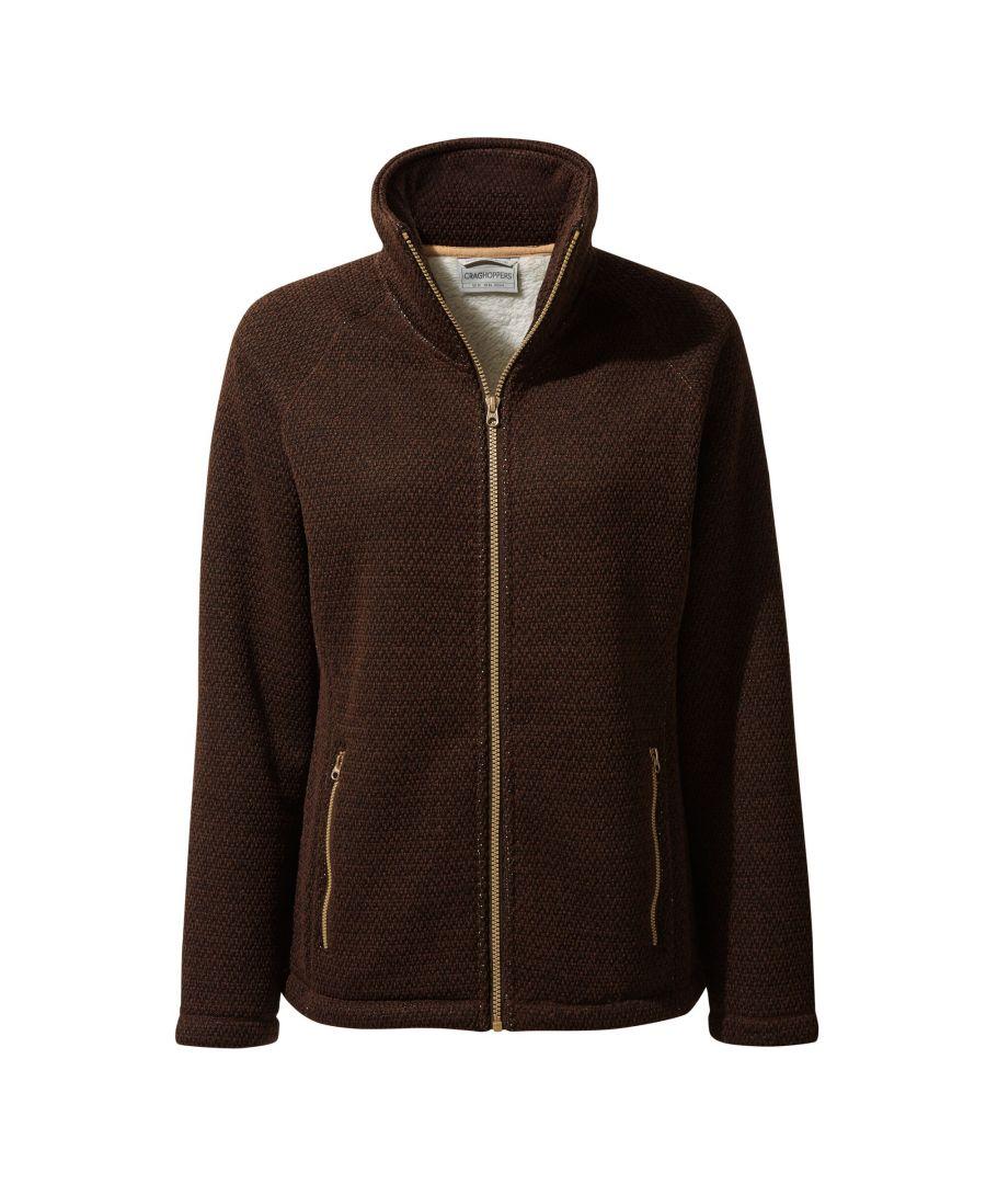 Image for Craghoppers Womens/Ladies Nairn Fleece Jacket (Port Marl)