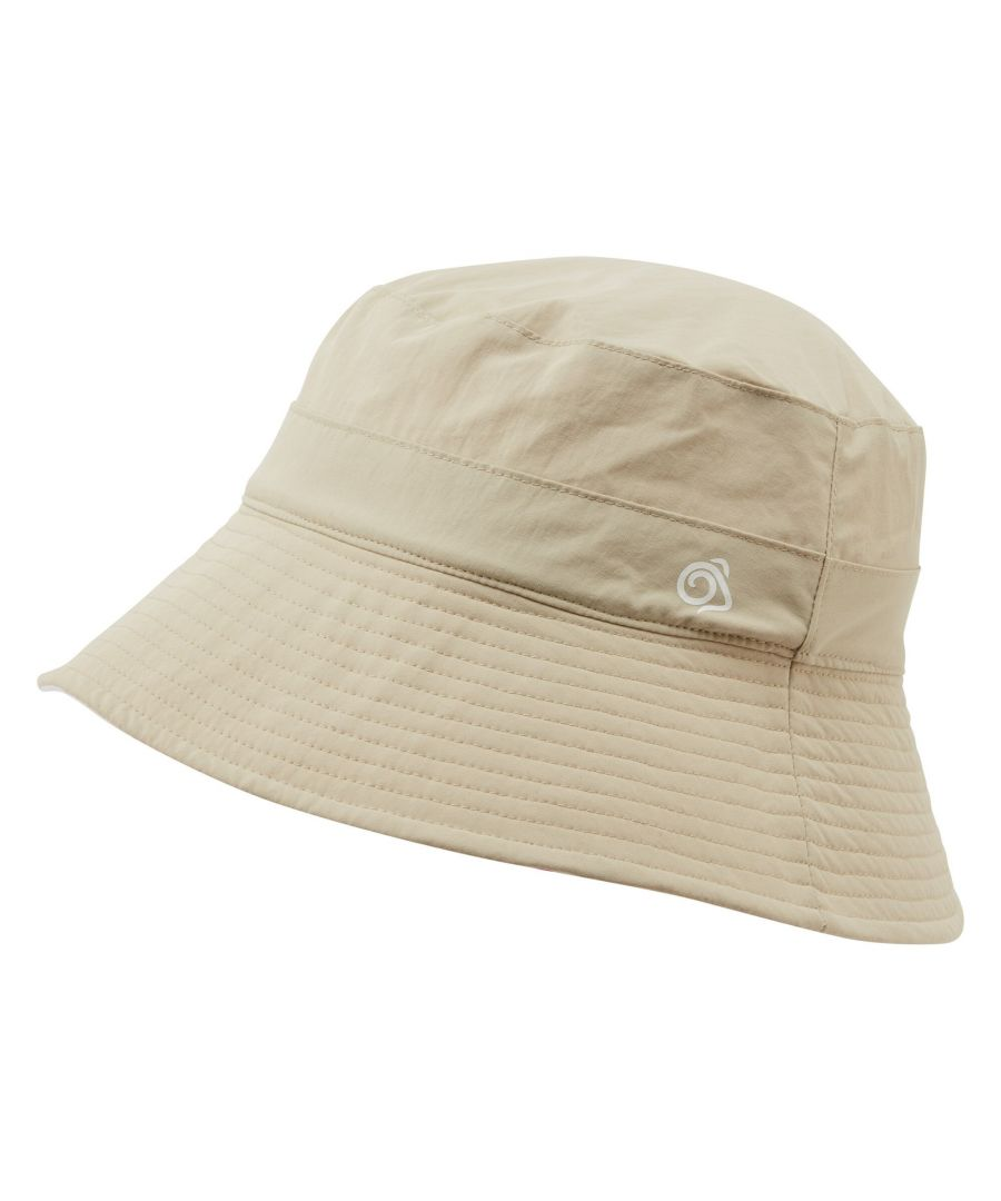 Image for Craghoppers Womens/Ladies NosiLife Reversible Sun Hat (Sand/Corsage Pink)