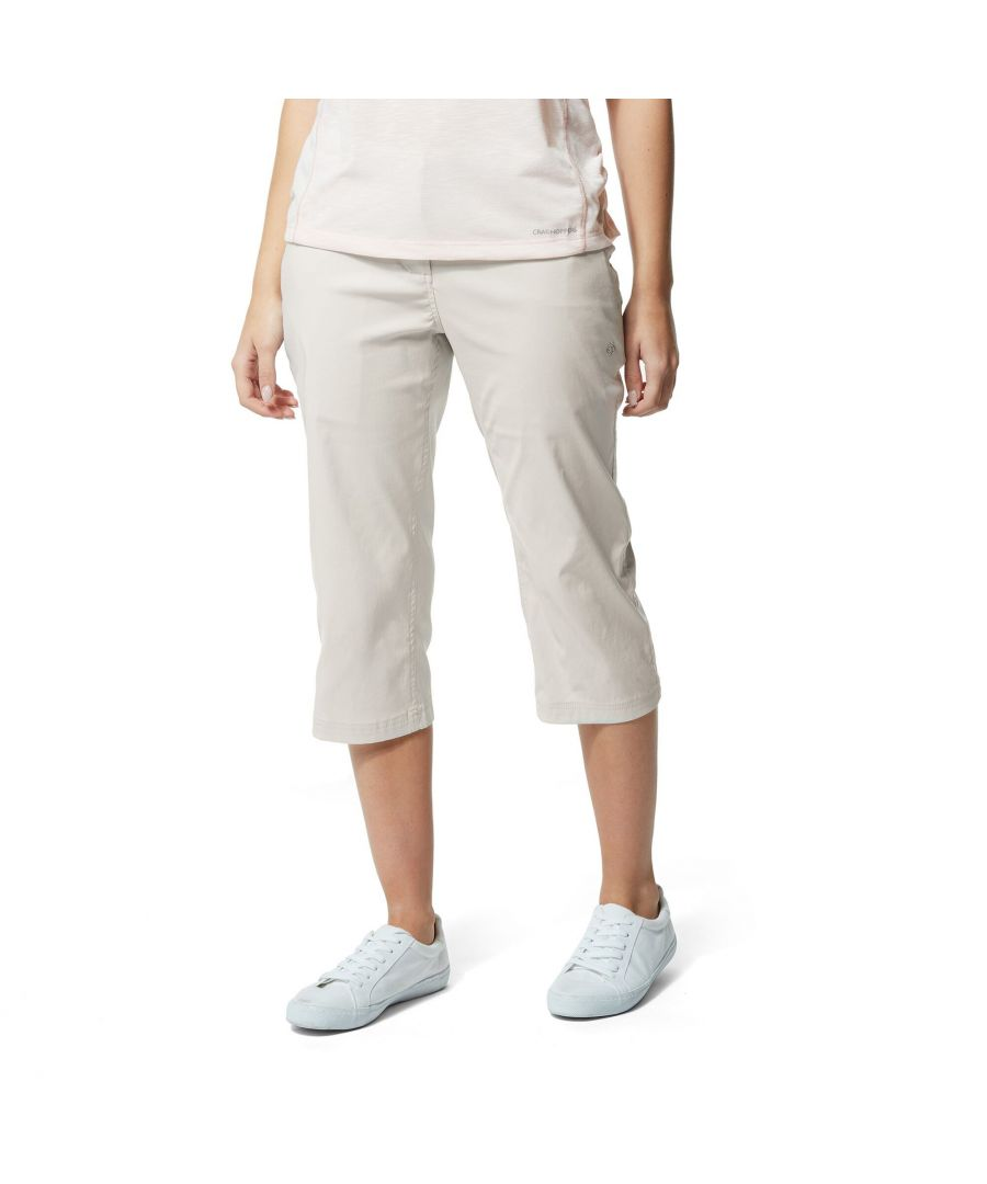 Image for Craghoppers Womens/Ladies Kiwi Pro Crop Trousers