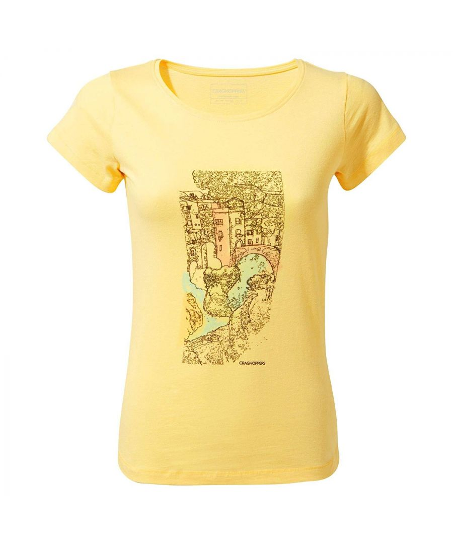 Image for Craghoppers Womens/Ladies Cornelia Short Sleeved Tee