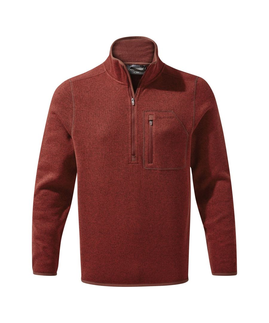 Image for Craghoppers Mens Etna Half Zip Fleece