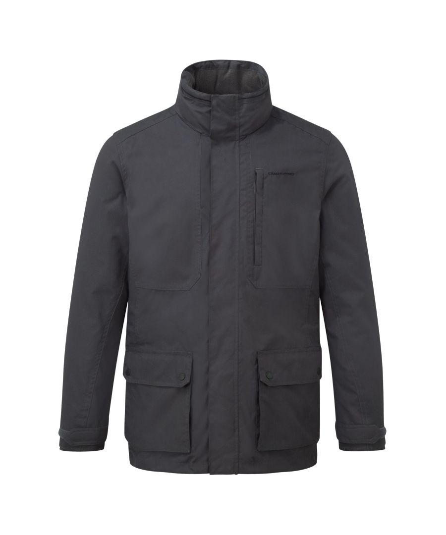 Image for Craghoppers Mens Eldon Waterproof Insulated Jacket