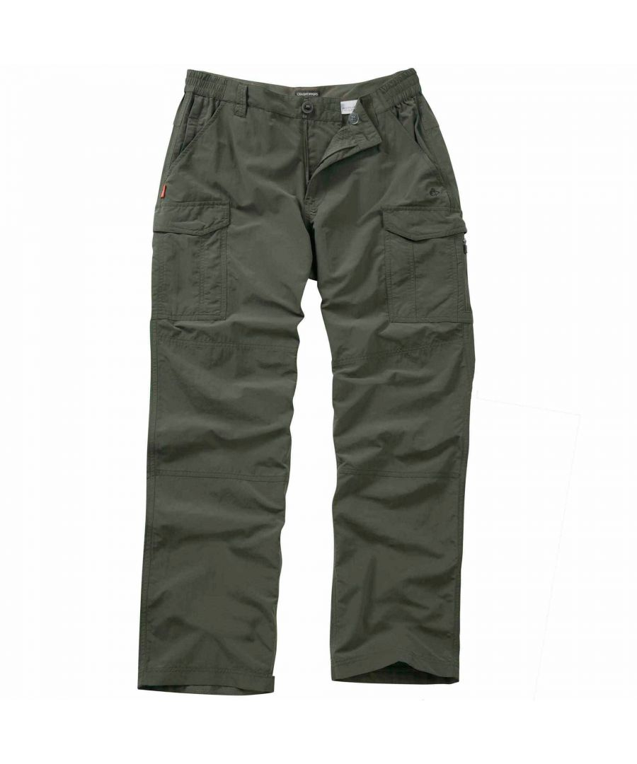 Image for Craghoppers NosiLife Mens Insect Repellent Cargo Trousers