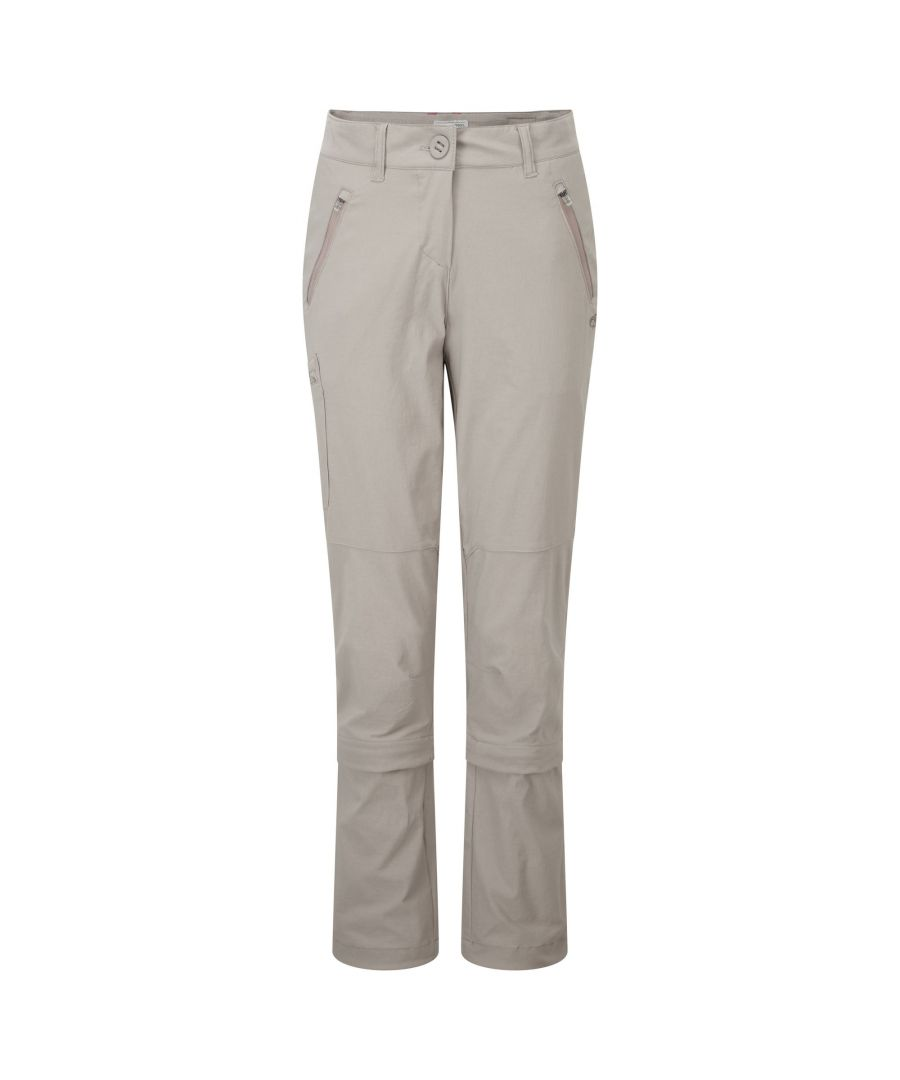 Image for Craghoppers Womens/Ladies NosiLife Pro Capri Convertible Trousers