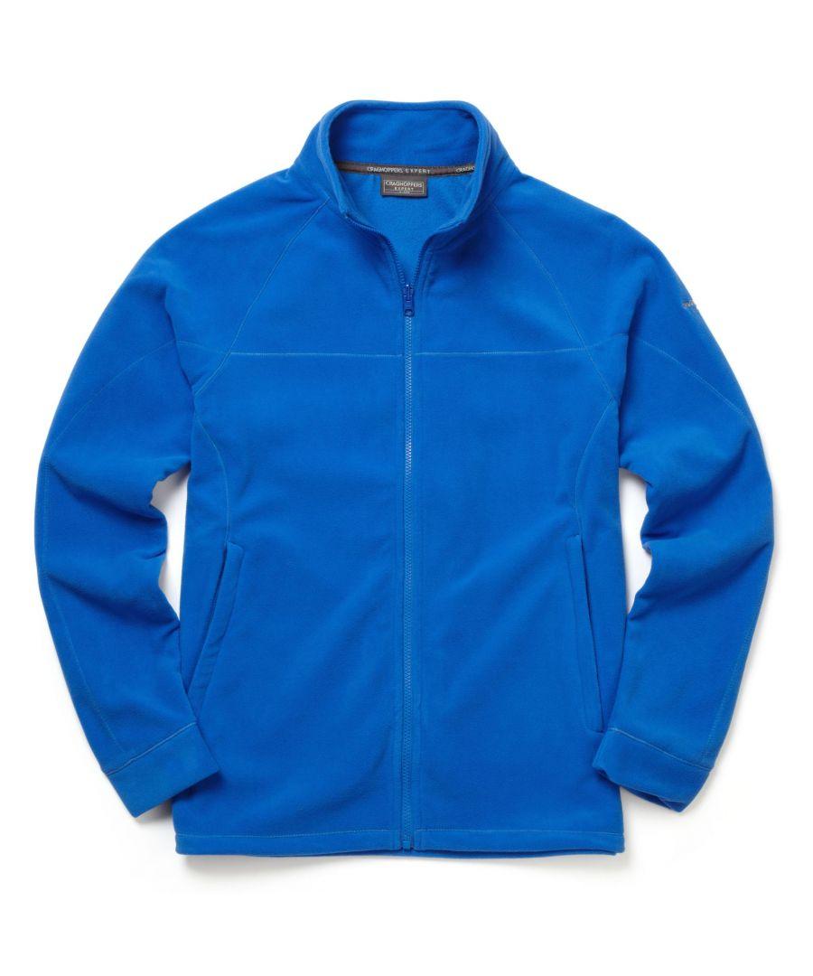 Image for Craghoppers Mens Expert Basecamp Microfleece Full Zip Jacket (Sport Blue)