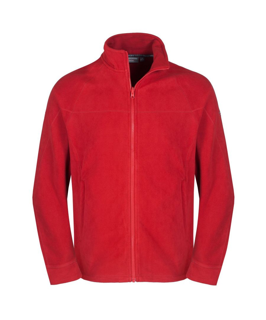 Image for Craghoppers Mens Expert Basecamp Microfleece Full Zip Jacket (Red)