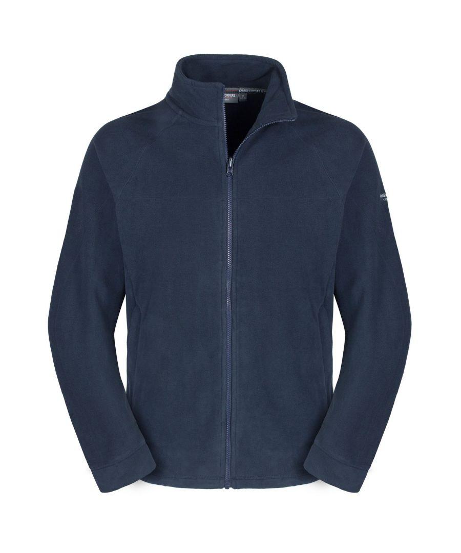 Image for Craghoppers Mens Expert Basecamp Microfleece Full Zip Jacket (Navy)