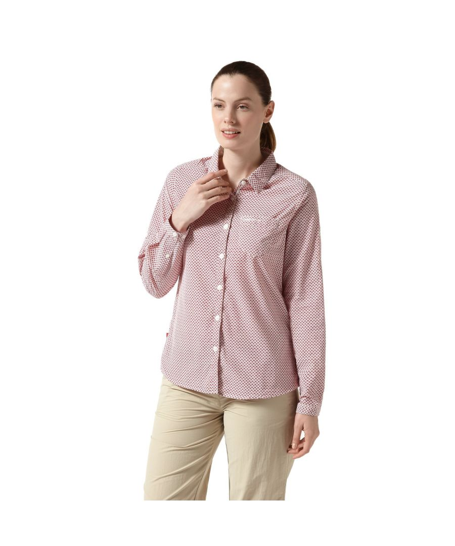 Image for Craghoppers Womens NosiLife Adoni Long Sleeved Shirt