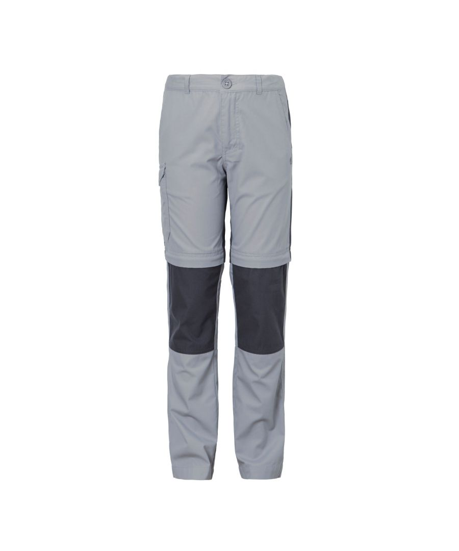 Image for Craghoppers Childrens/Kids Kiwi Convertible Trousers (Cement)