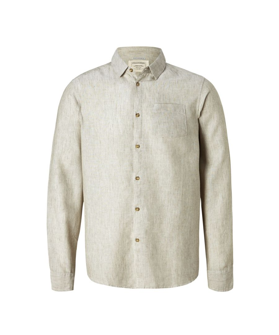 Image for Craghoppers Mens Porter Long Sleeved Shirt