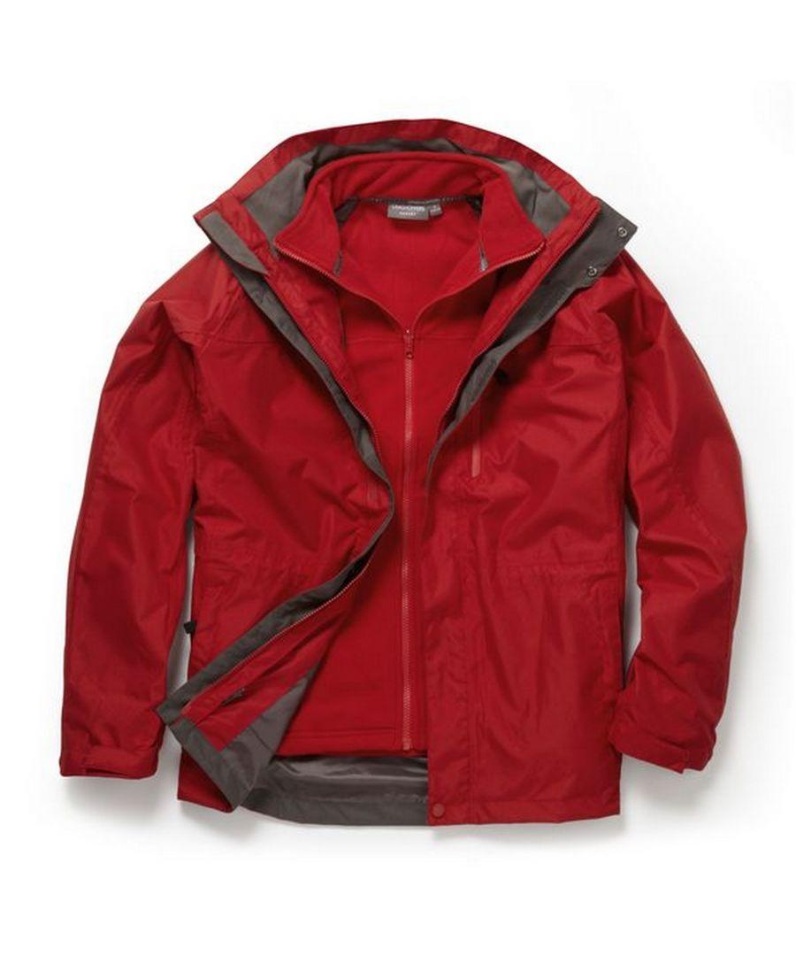 Image for Craghoppers Mens Expert Kiwi 3 In 1 Waterproof Jacket