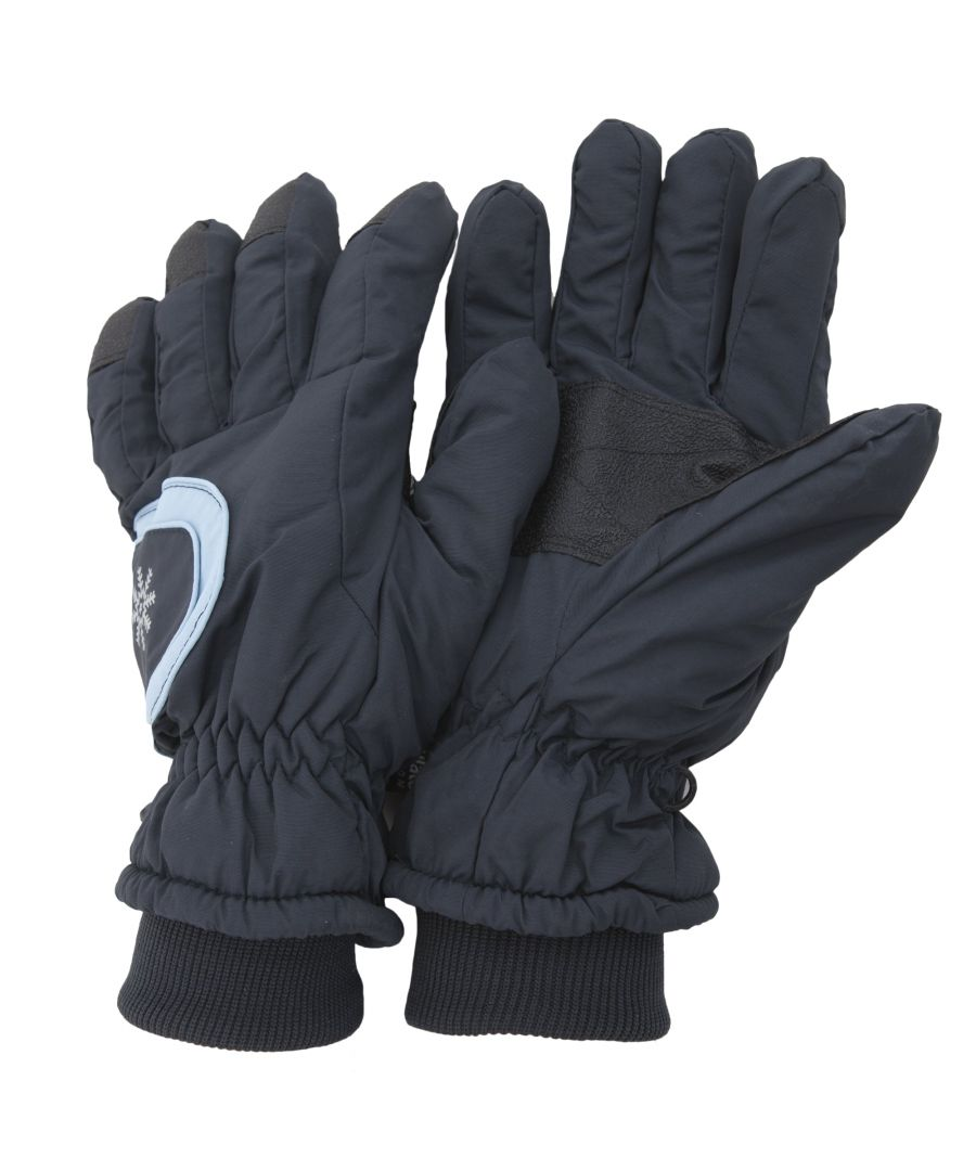 Image for Floso Ladies/Womens Thinsulate Extra Warm Thermal Padded Winter/Ski Gloves With Palm Grip (3M 40g) (Navy)