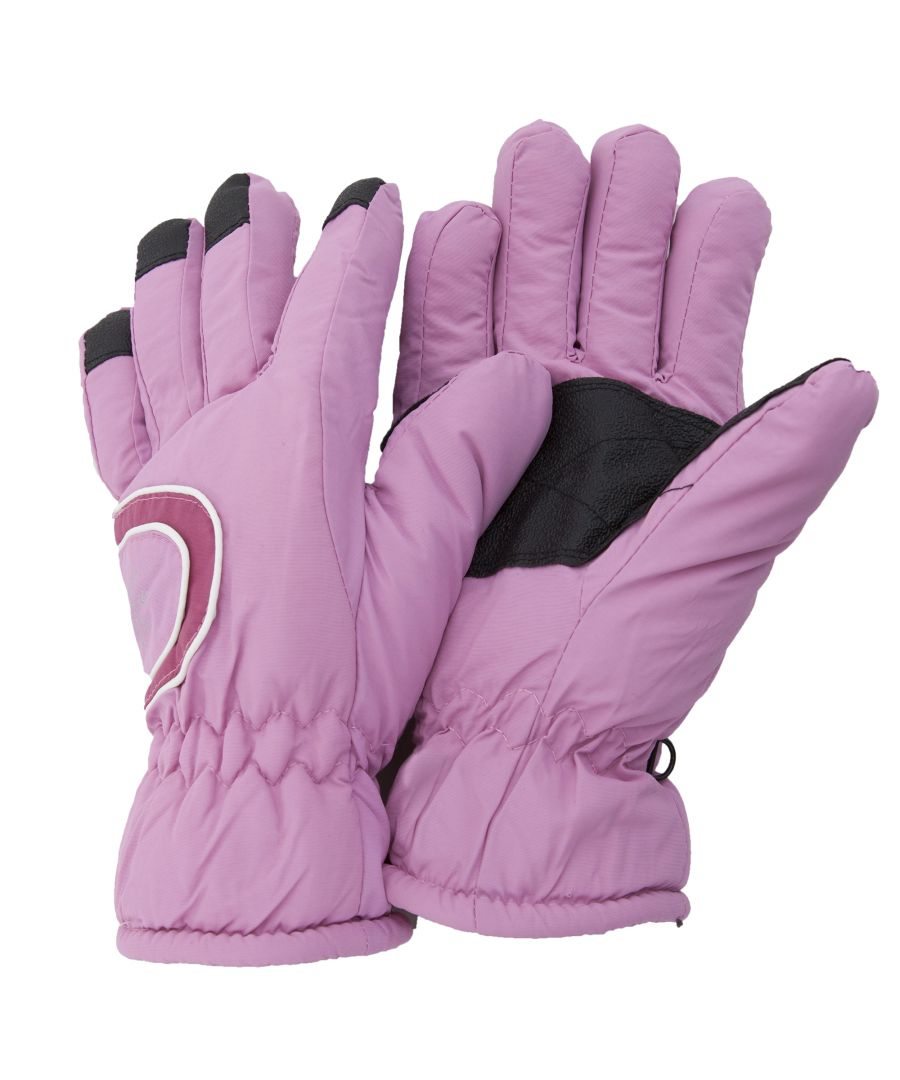 Image for Floso Ladies/Womens Thinsulate Extra Warm Thermal Padded Winter/Ski Gloves With Palm Grip (3M 40g) (Baby Pink)