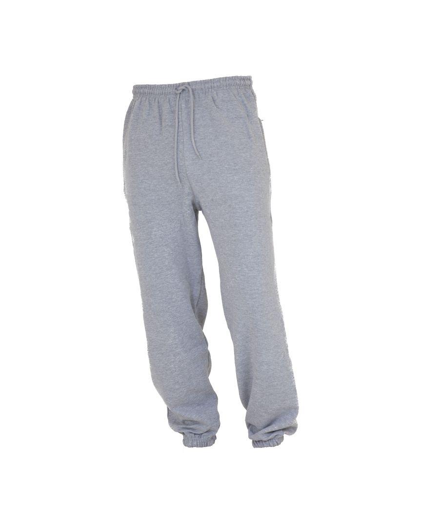 Image for FLOSO Kids Unisex Jogging Bottoms/Pants / School Wear Range (Closed Cuff) (Grey)