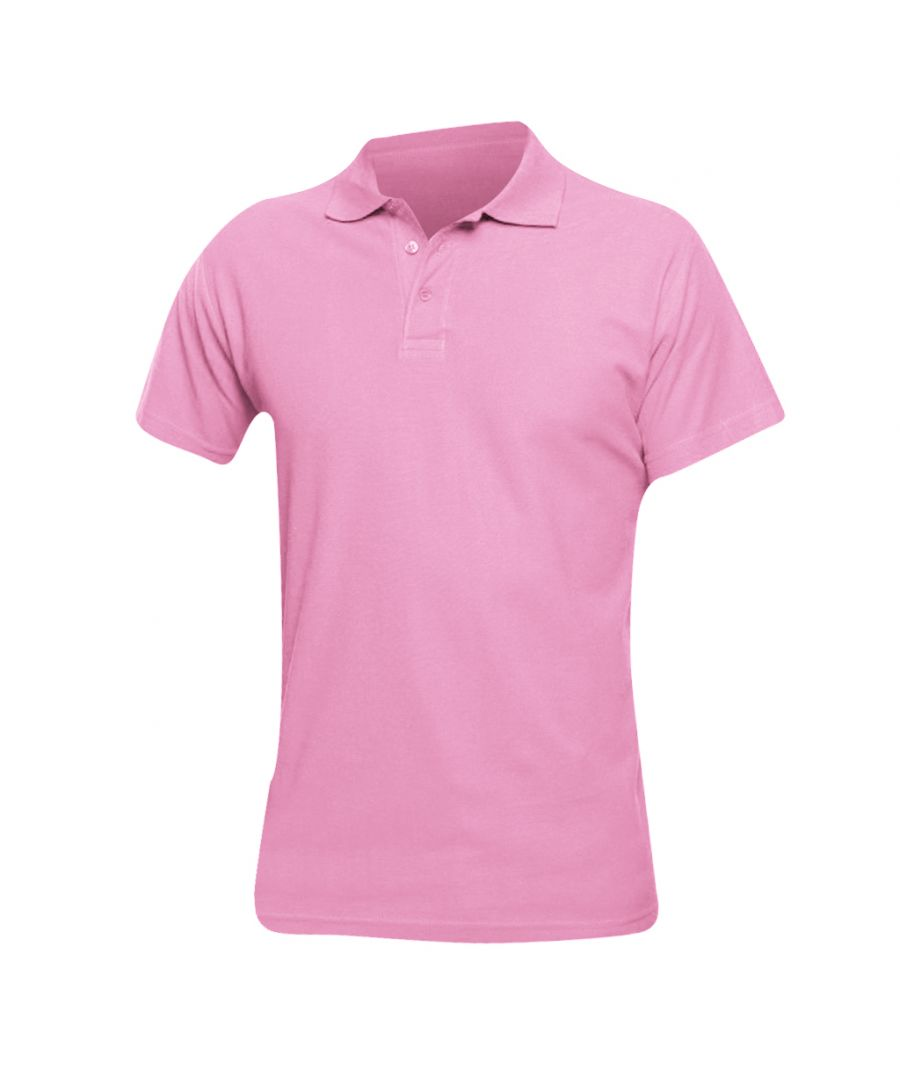 Image for SOLS Mens Spring II Short Sleeve Heavyweight Polo Shirt (Orchid Pink)