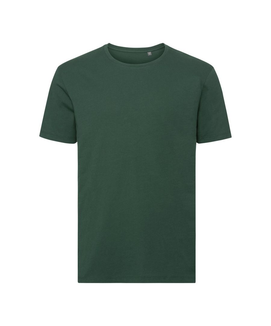 Image for Russell Mens Authentic Pure Organic T-Shirt (Bottle Green)