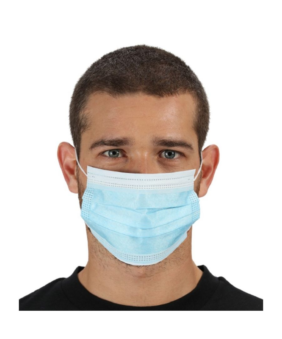 Image for Regatta Type I Disposable Face Mask (Pack of 50) (Blue)