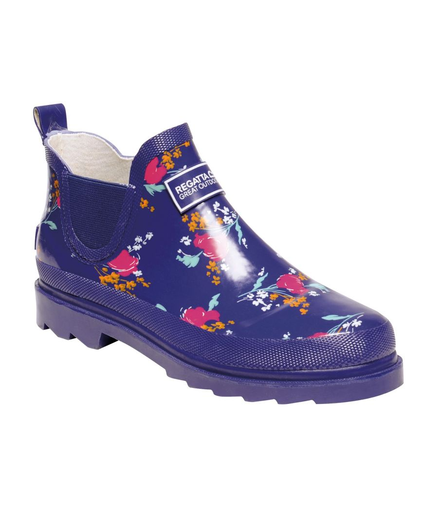 Image for Regatta Great Outdoors Womens/Ladies Harper Low Cut Wellington Boots