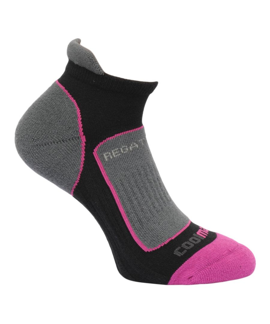 Image for Regatta Great Outdoors Womens/Ladies Trail Runner Trainer Socks