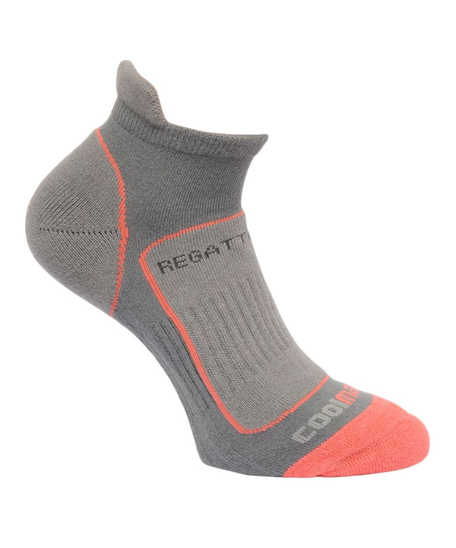 Image for Regatta Great Outdoors Womens/Ladies Trail Runner Trainer Socks