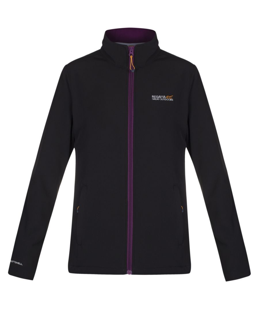 Image for Regatta Great Outdoors Womens/Ladies Connie III Full Zip Softshell Jacket