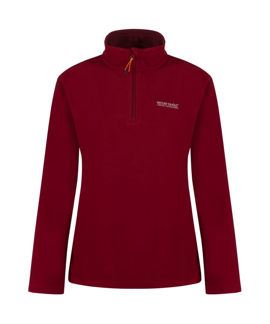 Image for Regatta Great Outdoors Womens/Ladies Sweetheart 1/4 Zip Fleece Top