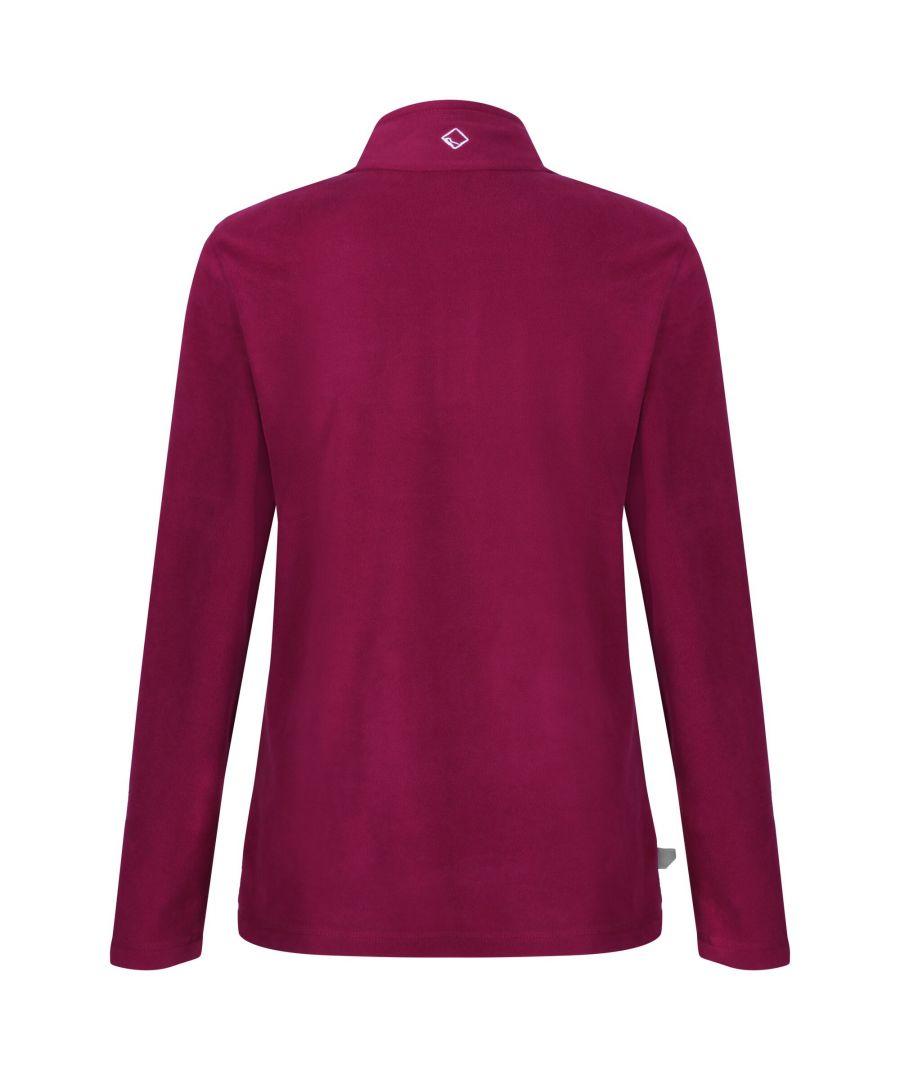 Image for Regatta Great Outdoors Womens/Ladies Sweetheart 1/4 Zip Fleece Top
