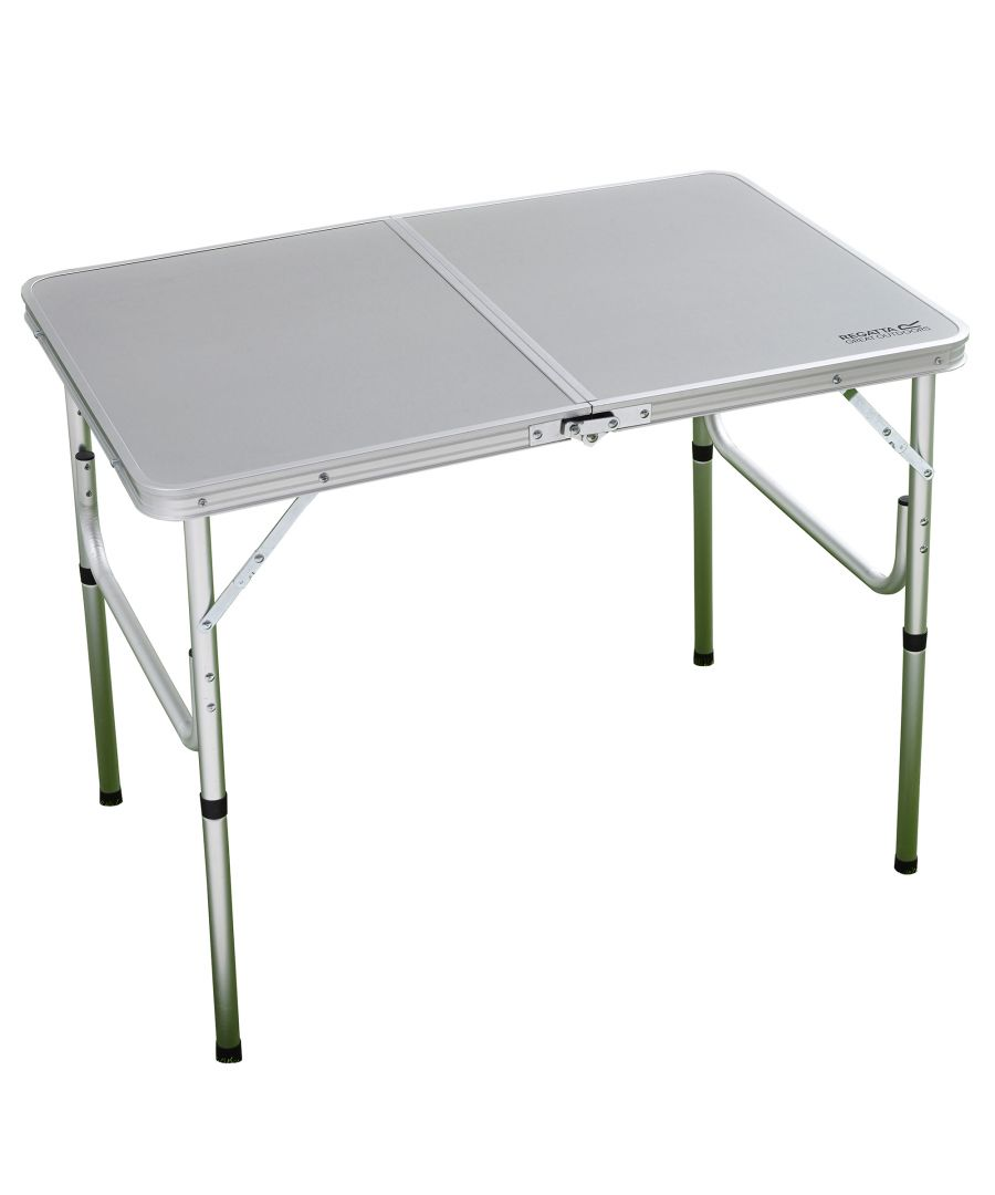 Image for Regatta Great Outdoors Cena Compact Folding Camping Table (Silver)