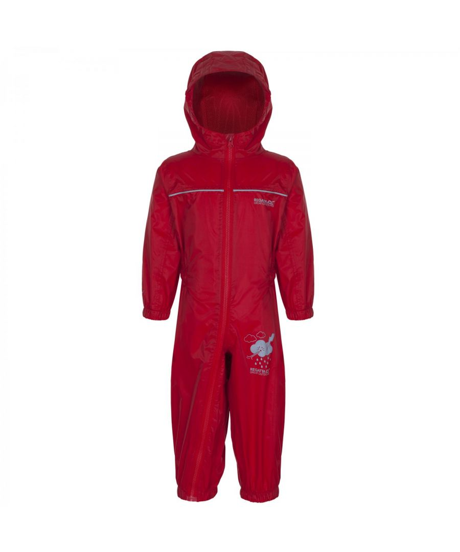 Image for Regatta Great Outdoors Childrens Toddlers Puddle IV Waterproof Rainsuit
