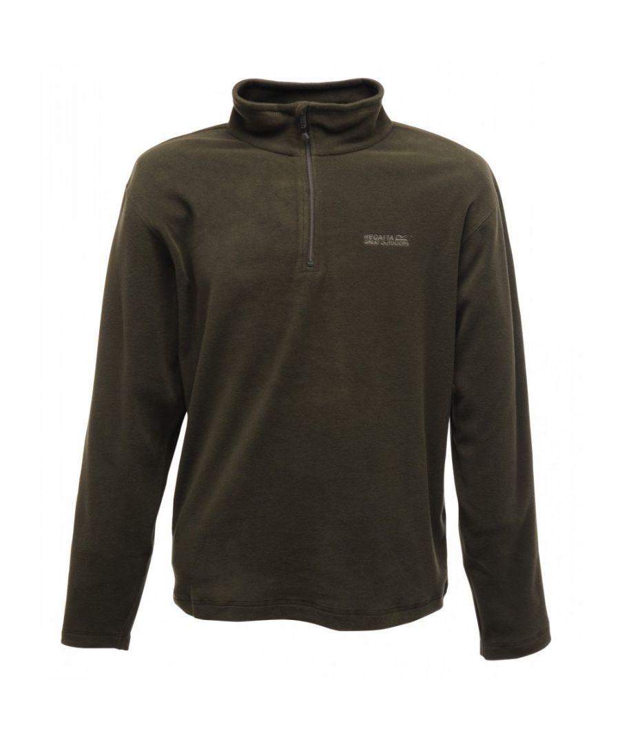 Image for Regatta Great Outdoors Mens Thompson Half Zip Fleece Top