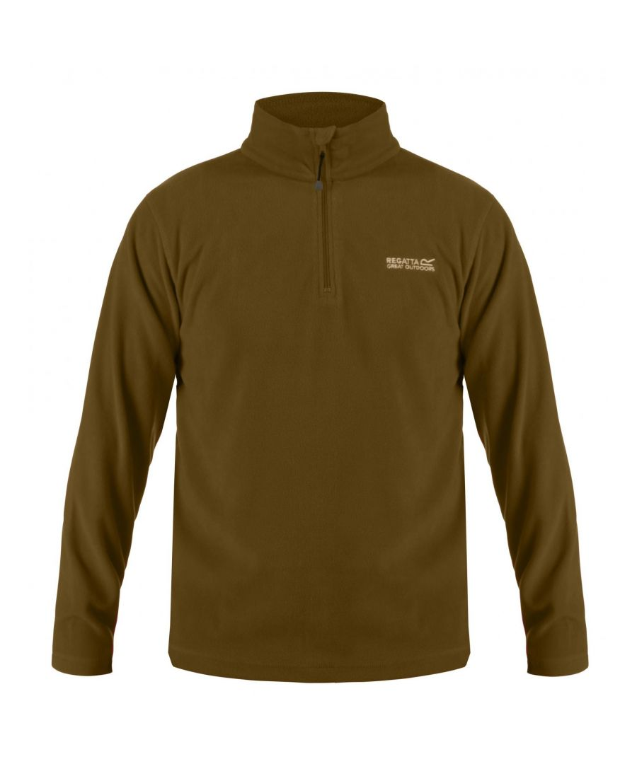 Image for Regatta Great Outdoors Mens Thompson Half Zip Fleece Top