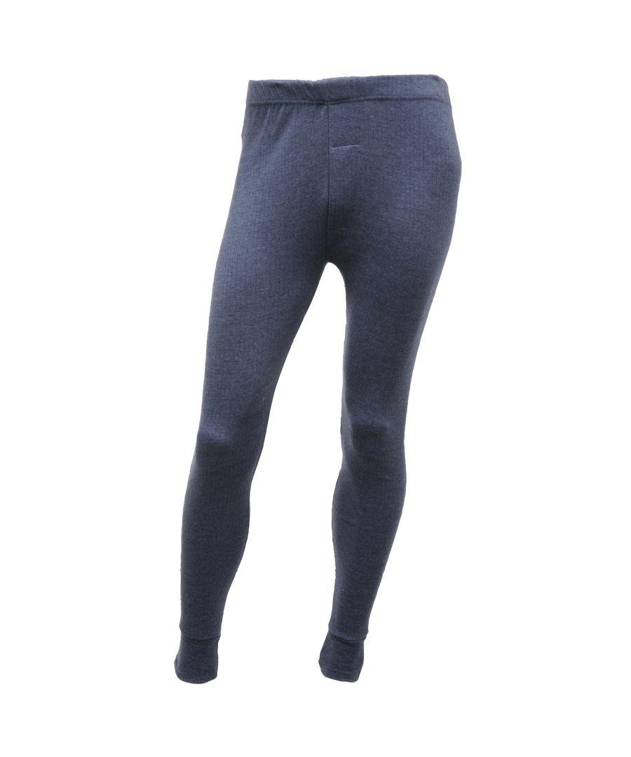 Image for Regatta Mens Thermal Underwear Long Johns (Denim Blue)