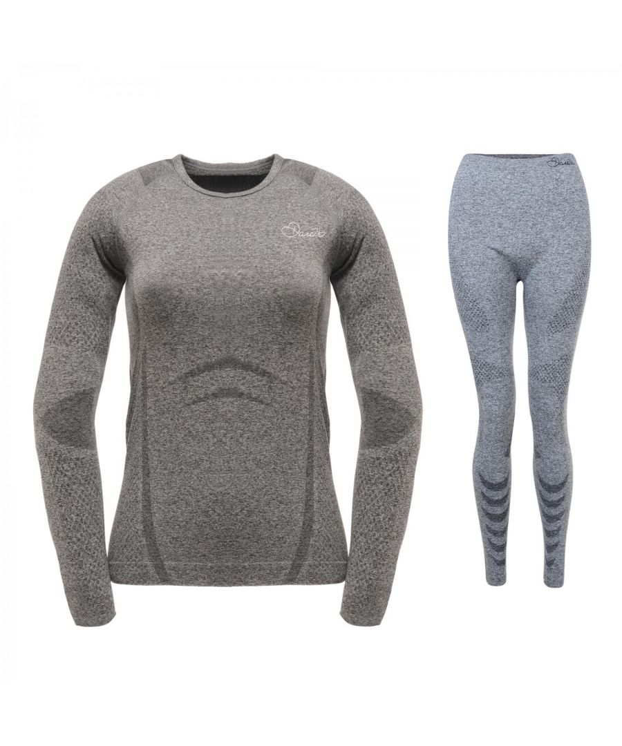 Image for Dare 2B Womens/Ladies Zonal III Baselayer Top And Bottoms Set