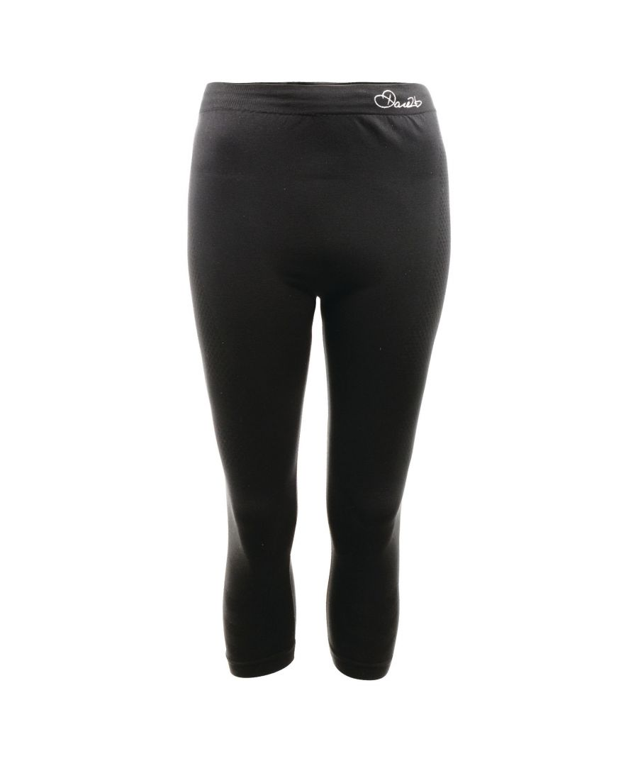 Image for Dare 2B Womens/Ladies Zonal III 3/4 Baselayer Bottoms/Leggings