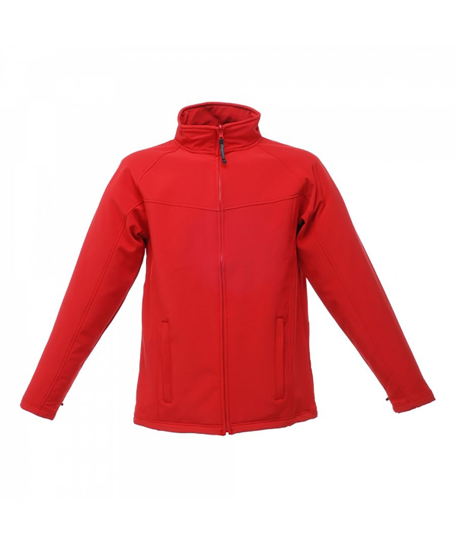 Image for Regatta Uproar Mens Softshell Wind Resistant Fleece Jacket