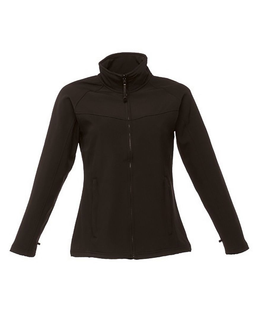 Image for Regatta Ladies Uproar Softshell Wind Resistant Jacket