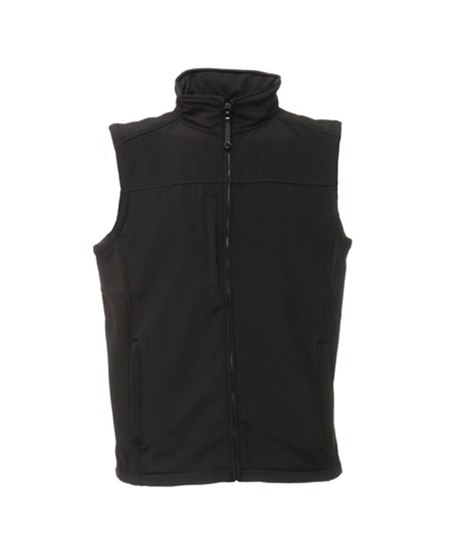 Image for Regatta Mens Flux Softshell Bodywarmer / Sleeveless Jacket Water Repellent And Wind Resistant