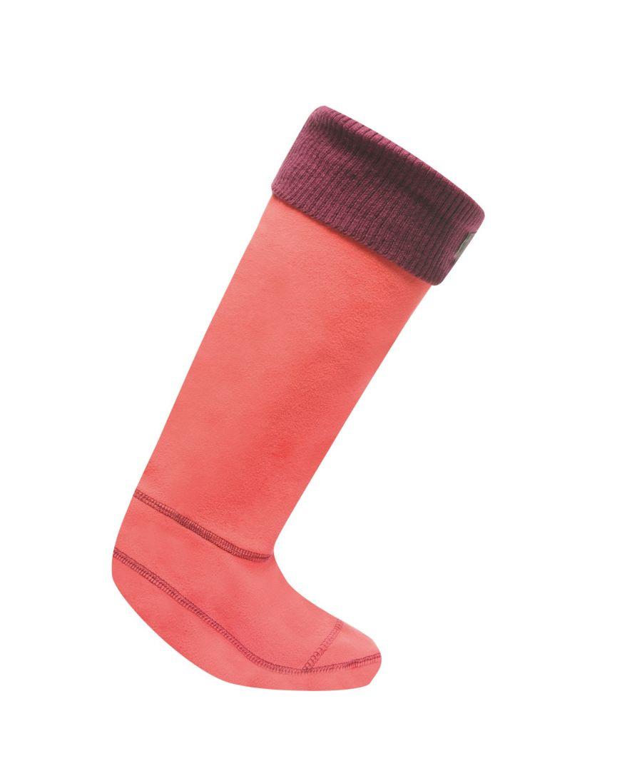 Image for Regatta Great Outdoors Womens/Ladies Fleece Wellington Boot Socks