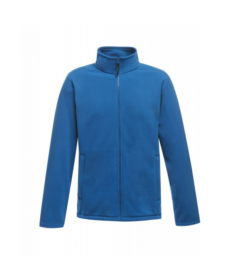 Image for Regatta Mens Plain Micro Fleece Full Zip Jacket (Layer Lite)