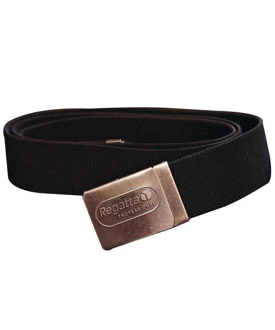 Image for Regatta Mens Premium Workwear Belt With Stretch (Black)