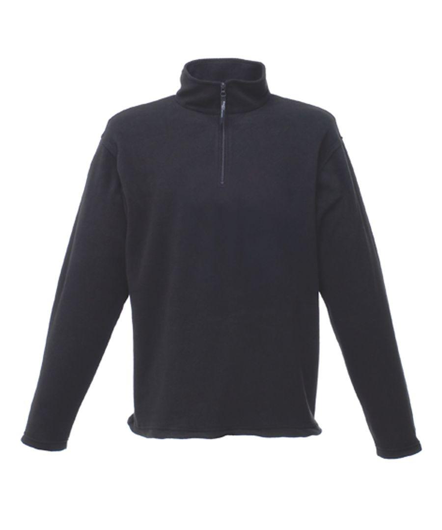 Image for Regatta Mens Micro Zip Neck Fleece Top