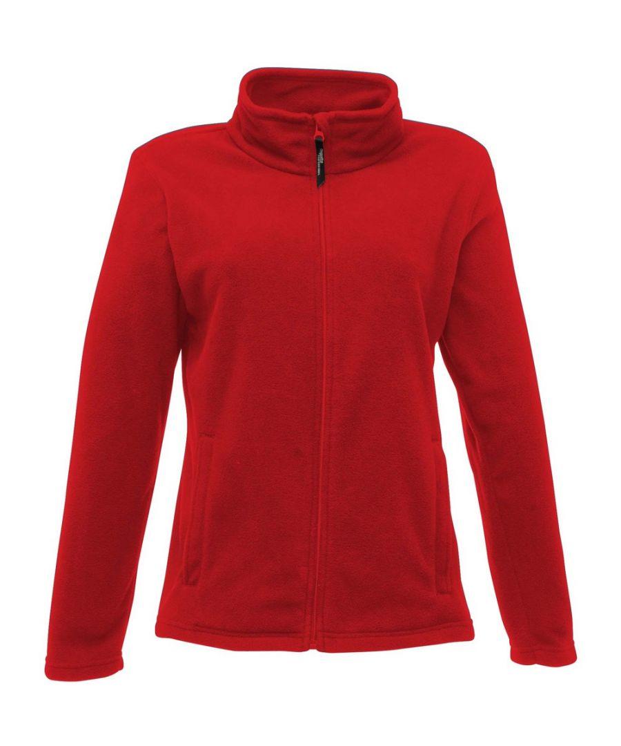 Image for Regatta Womens/Ladies Full-Zip 210 Series Microfleece Jacket