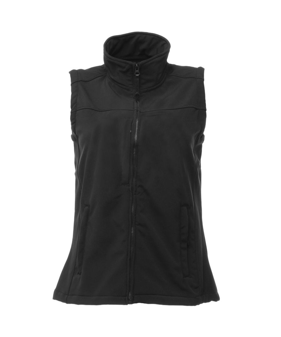 Image for Regatta Womens/Ladies Flux Softshell Bodywarmer / Sleeveless Jacket (Water Repellent & Wind Resistant)